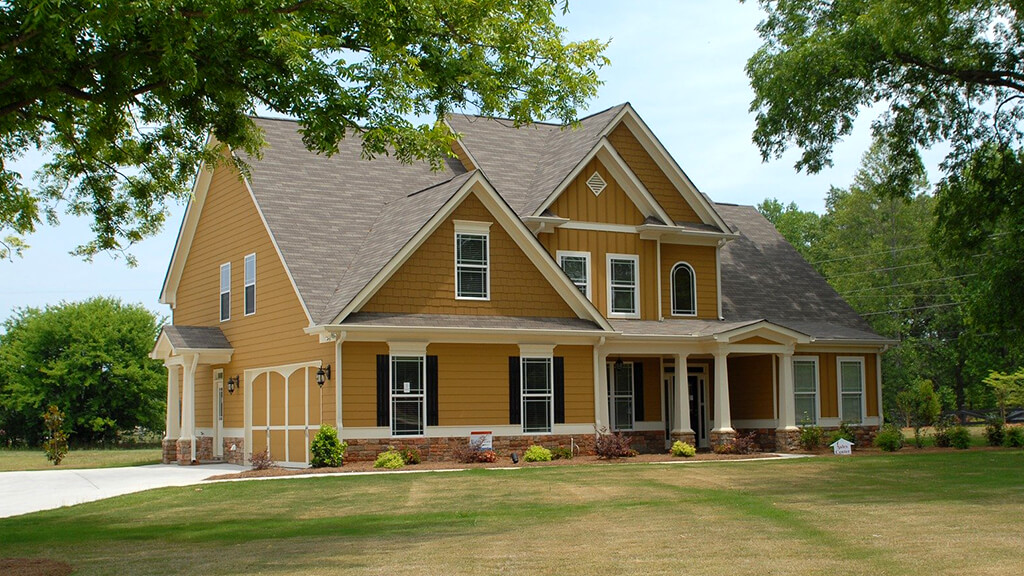 A New Two-Story Home